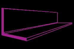 13 x 13 x 3 mild steel equal angle