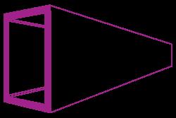 50 x 25 x 2.5 rectangular hollow section