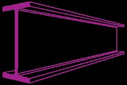 305 x 102 x 25 kg universal beam
