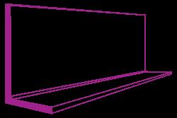 200 x 150 x 12 mild steel unequal angle