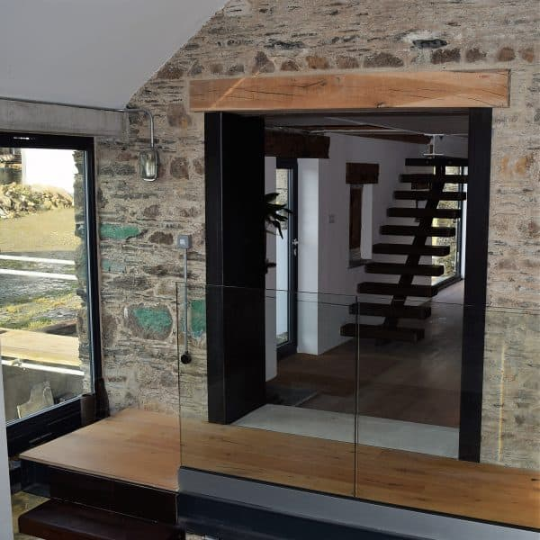 Industrial inspired barn conversion and renovation, Cornwall