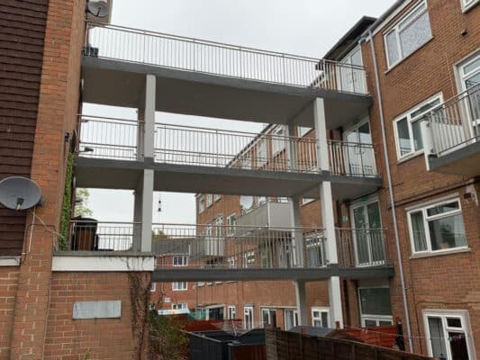 Finished Stainless Steel Balustrade